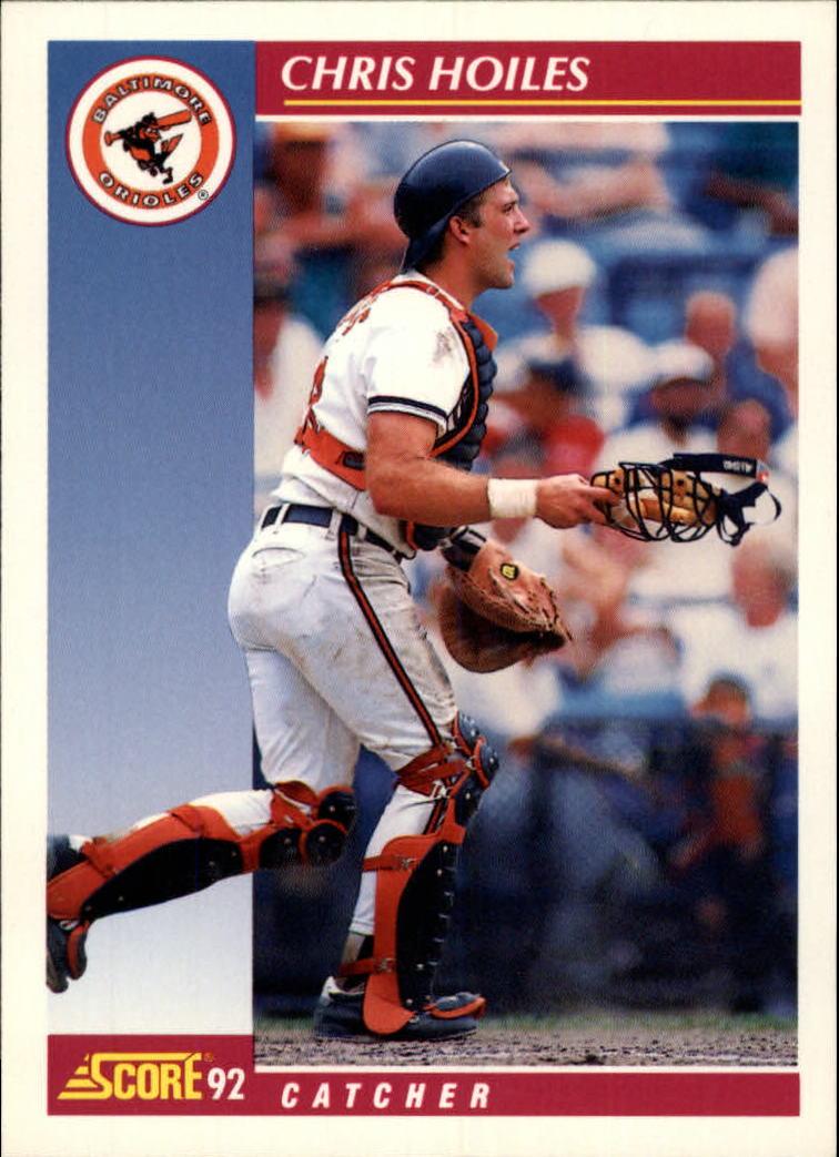 1992 Score #641 Chris Hoiles