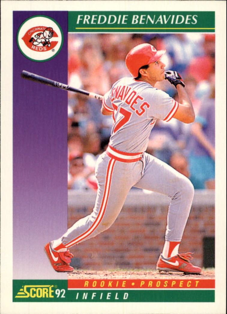 1992 Score #813 Freddie Benavides
