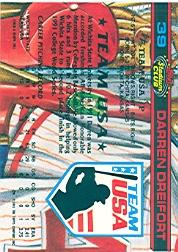 1992 Stadium Club Dome #39 Darren Dreifort back image