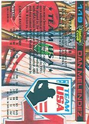 1992 Stadium Club Dome #119 Dan Melendez back image