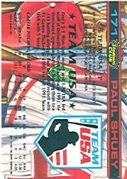 1992 Stadium Club Dome #171 Paul Shuey back image