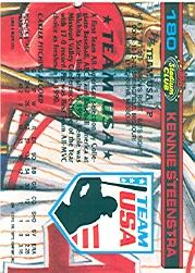 1992 Stadium Club Dome #180 Kennie Steenstra back image