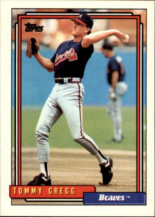 1992 Topps #53 Tommy Gregg