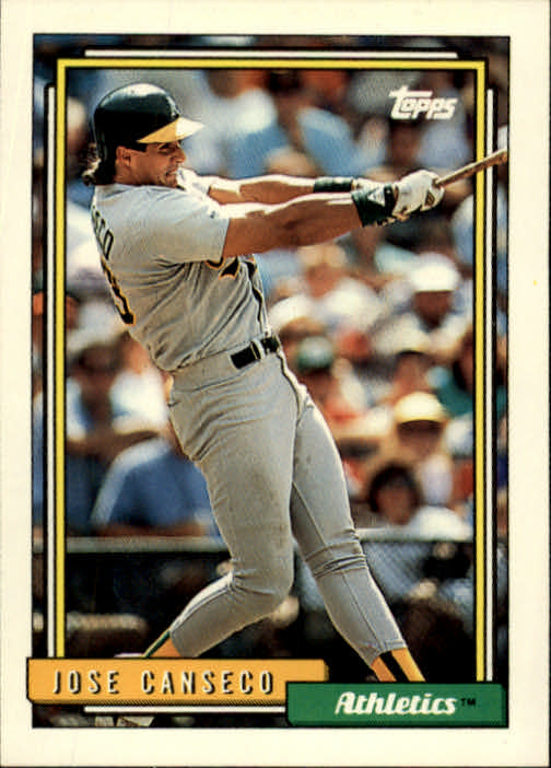 1992 Topps #100 Jose Canseco