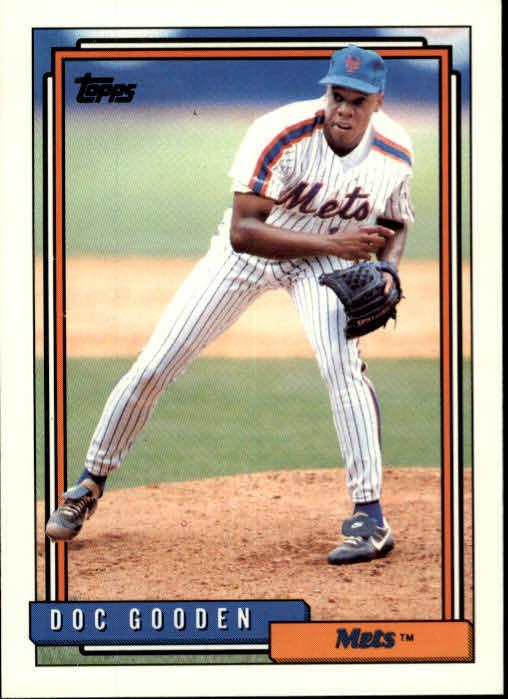 1992 Topps #725 Dwight Gooden