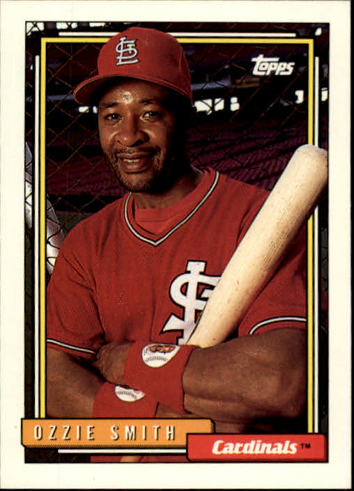 1992 Topps #760 Ozzie Smith