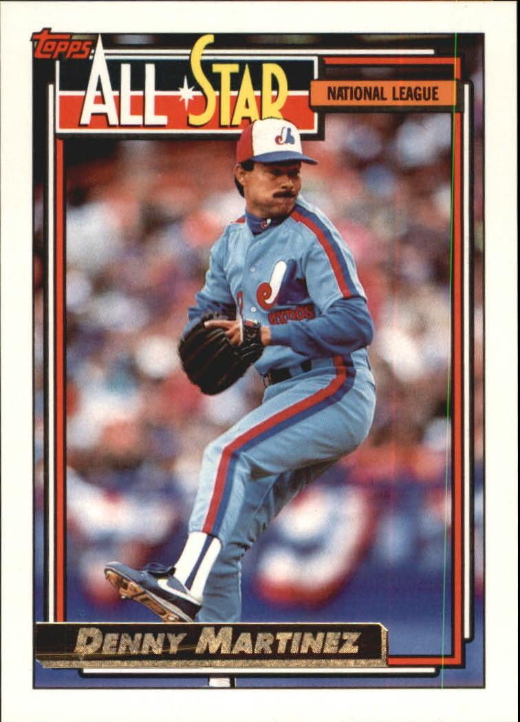 1992 Topps Gold #394 Dennis Martinez AS