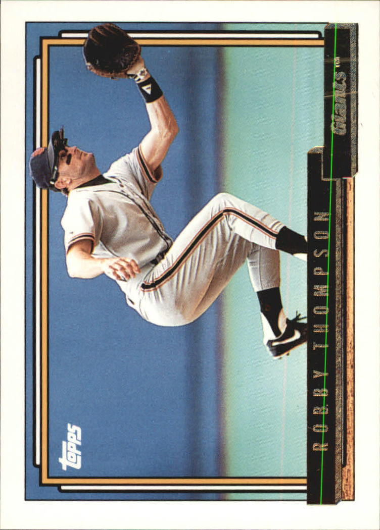 1992 Topps Gold #475 Robby Thompson