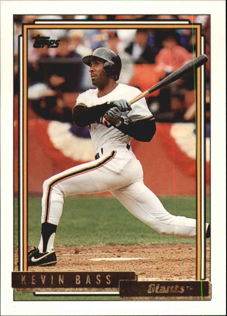1992 Topps Gold #513 Kevin Bass