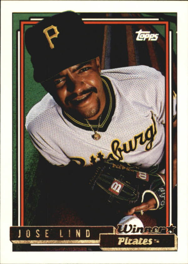 1992 Topps Gold Winners #43 Jose Lind