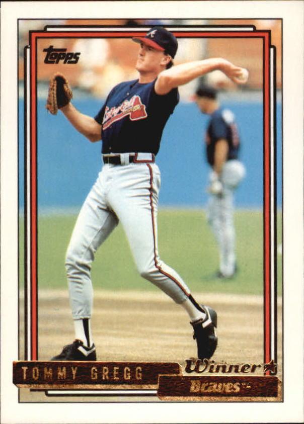 1992 Topps Gold Winners #53 Tommy Gregg