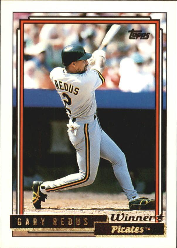 1992 Topps Gold Winners #453 Gary Redus