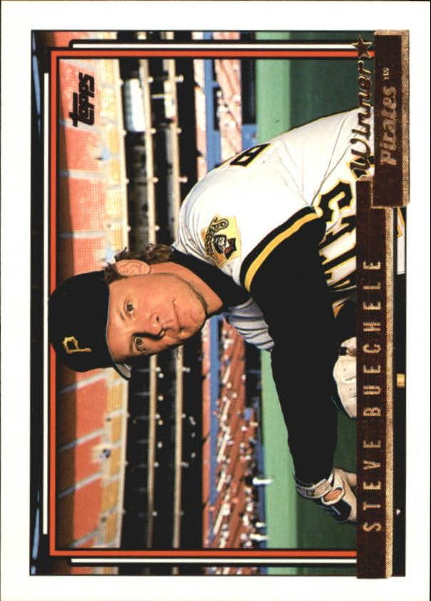 1992 Topps Gold Winners #622 Steve Buechele