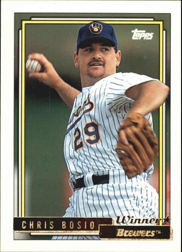 1992 Topps Gold Winners #638 Chris Bosio