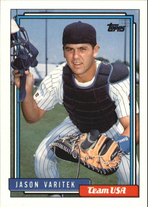 1992 Topps Traded #123T Jason Varitek USA RC