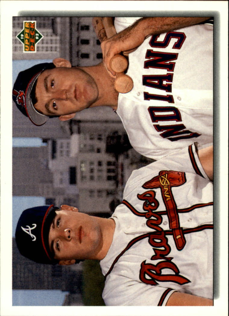 1992 Upper Deck #1 J.Thome/R.Klesko CL