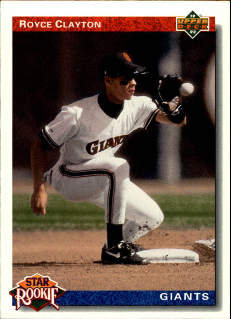 1992 Upper Deck #2 Royce Clayton SR