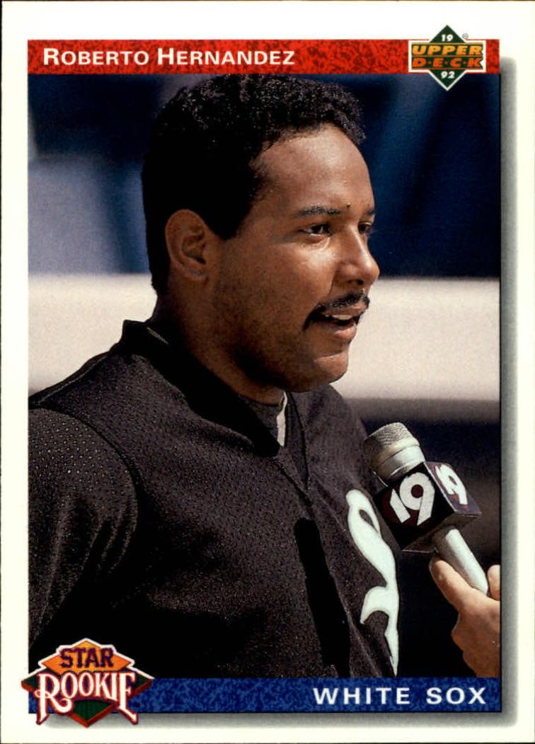 1992 Upper Deck #7 Roberto Hernandez SR