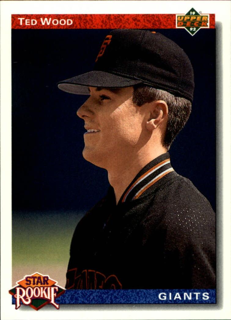 1992 Upper Deck #12 Ted Wood SR