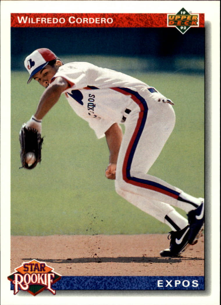 1992 Upper Deck #16 Wil Cordero SR