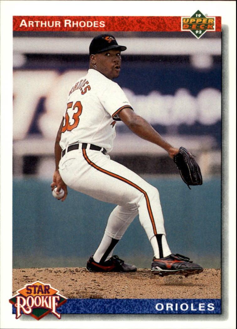 1992 Upper Deck #17 Arthur Rhodes SR