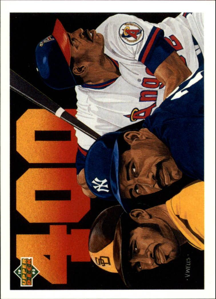 1992 Upper Deck #28 Dave Winfield's 400th