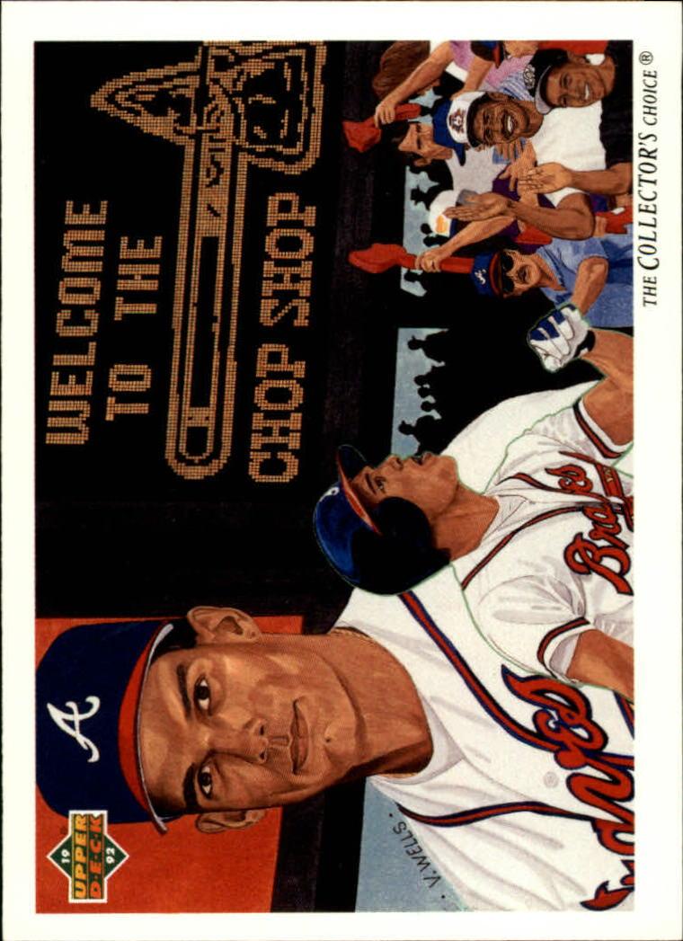 1992 Upper Deck #29 David Justice TC