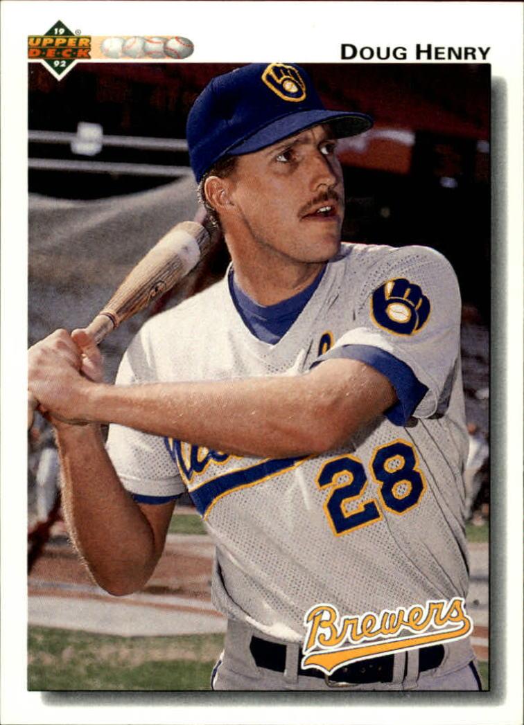 1992 Upper Deck #43 Doug Henry RC