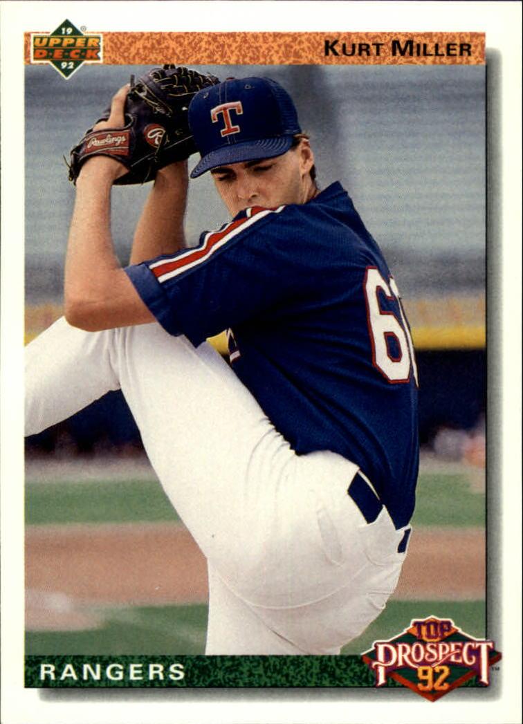 1992 Upper Deck #70 Kurt Miller TP