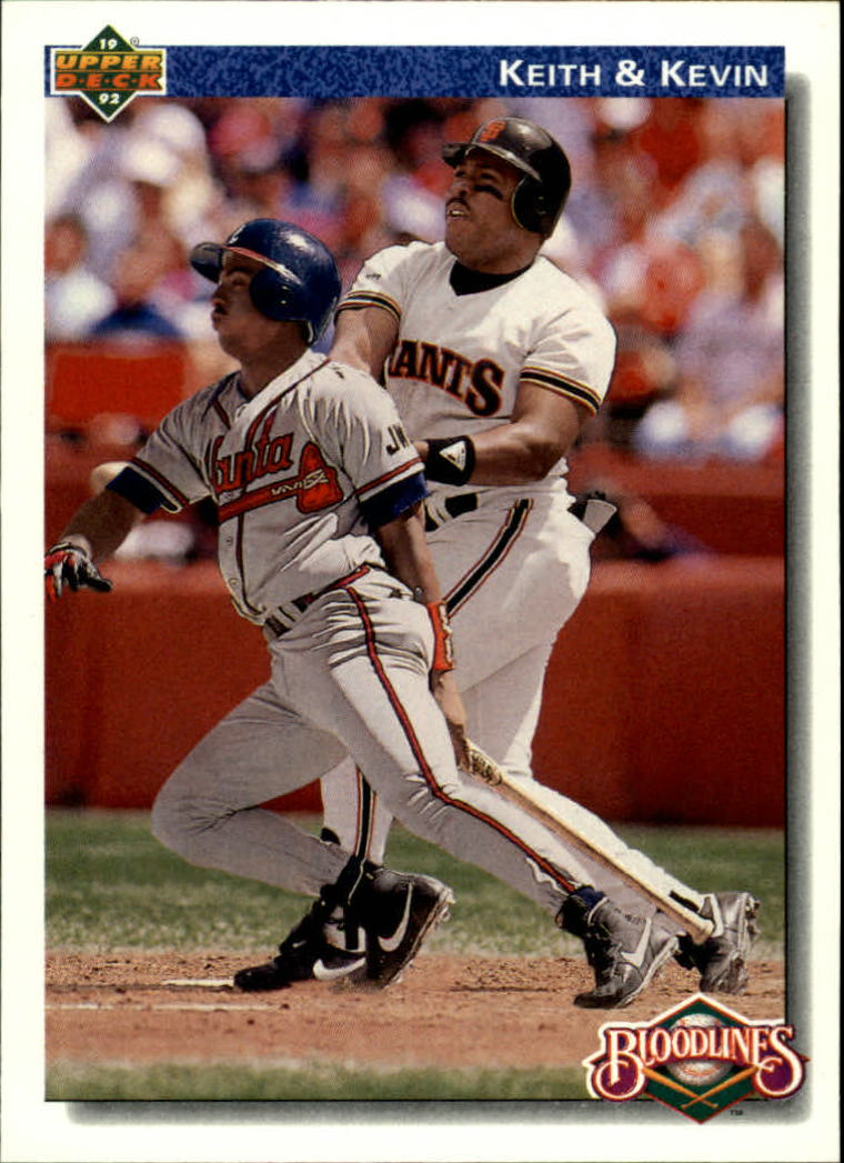 1992 Upper Deck #80 Kevin Mitchell/Keith Mitchell