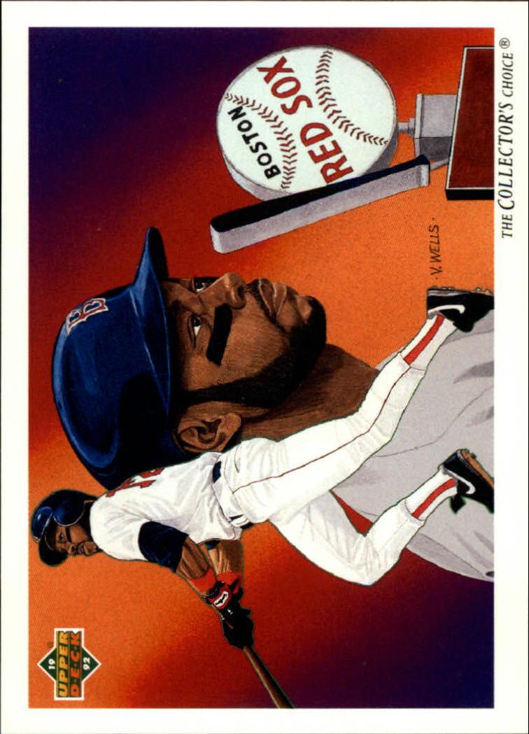1992 Upper Deck #94 Ellis Burks TC/Boston Red Sox