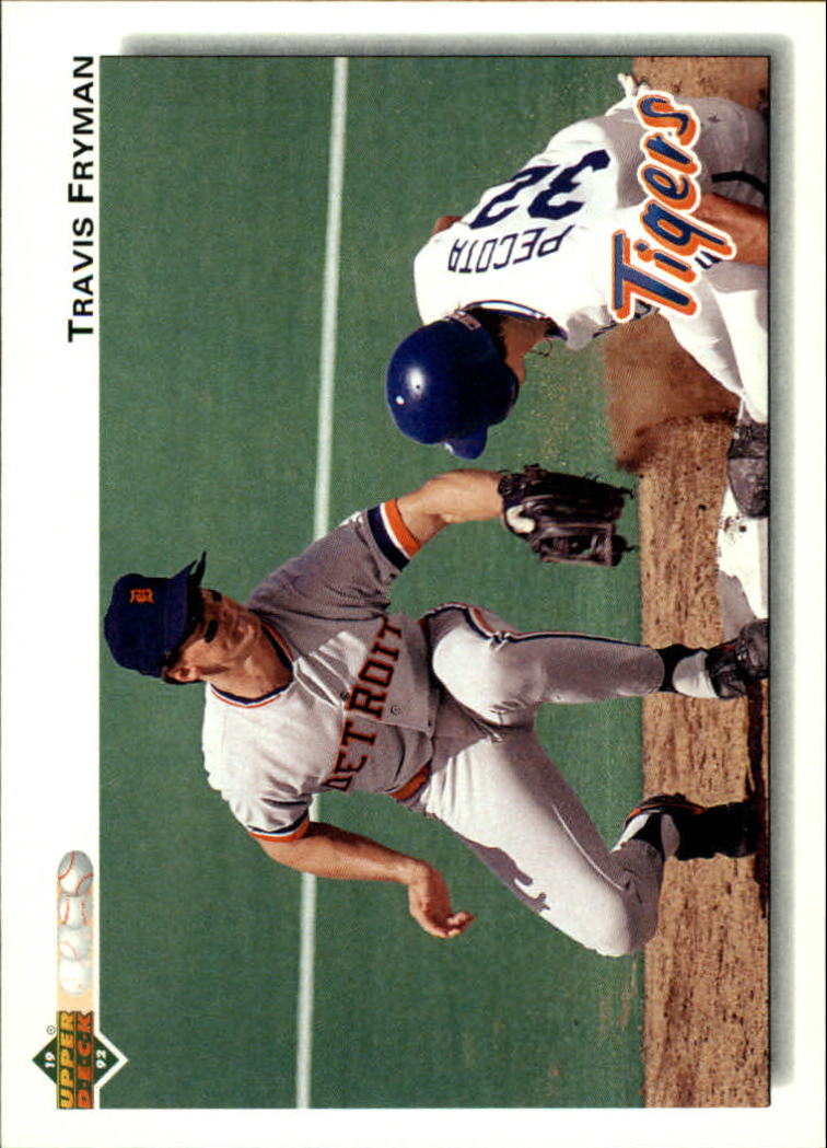 1992 Upper Deck #466 Travis Fryman