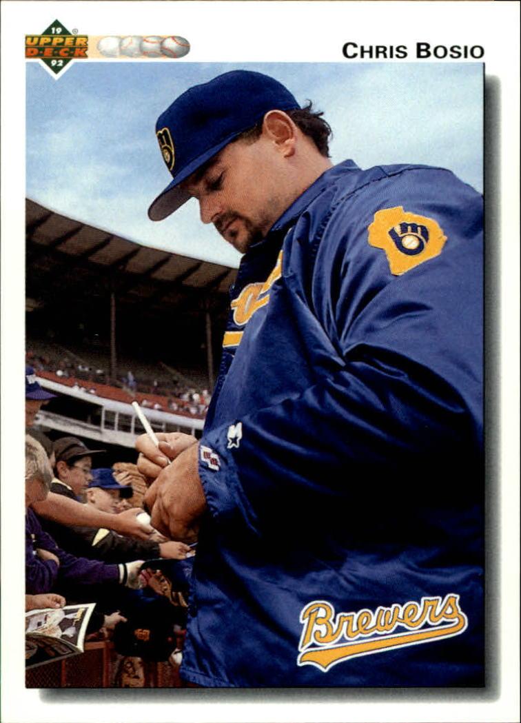 1992 Upper Deck #615 Chris Bosio