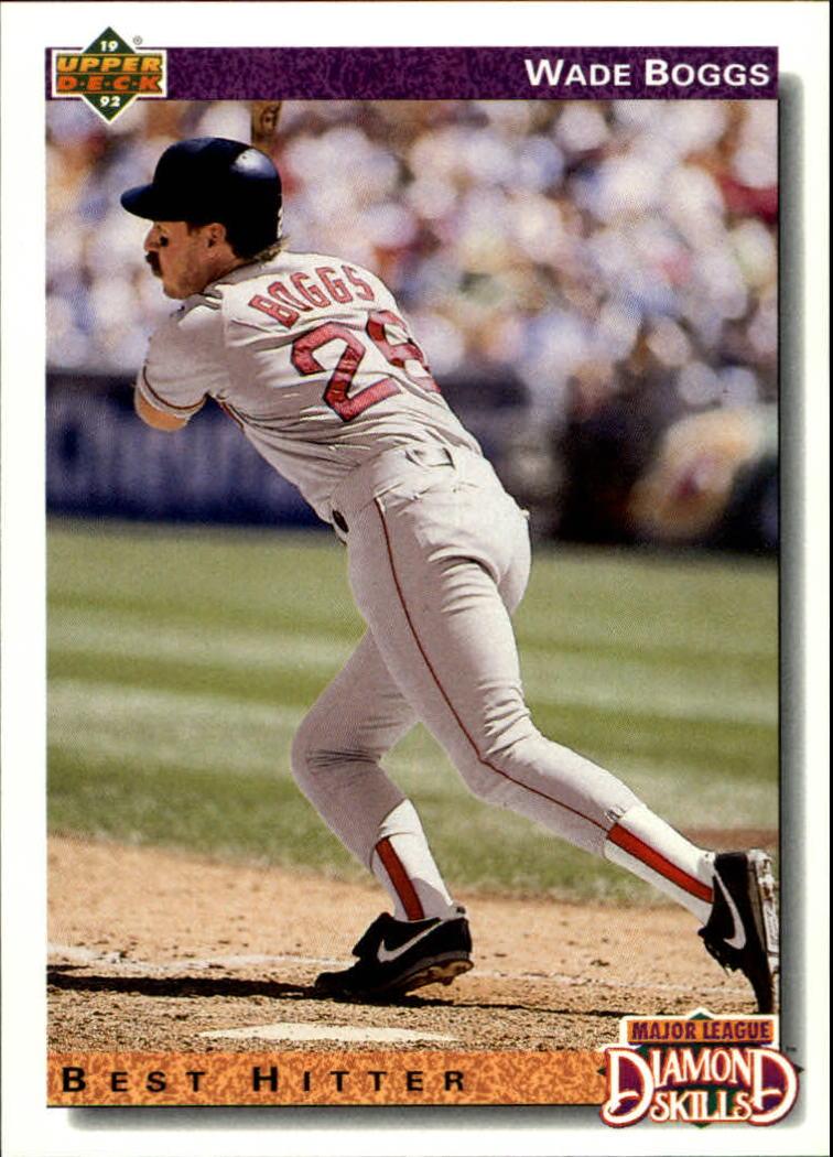 1992 Upper Deck #646 Wade Boggs DS