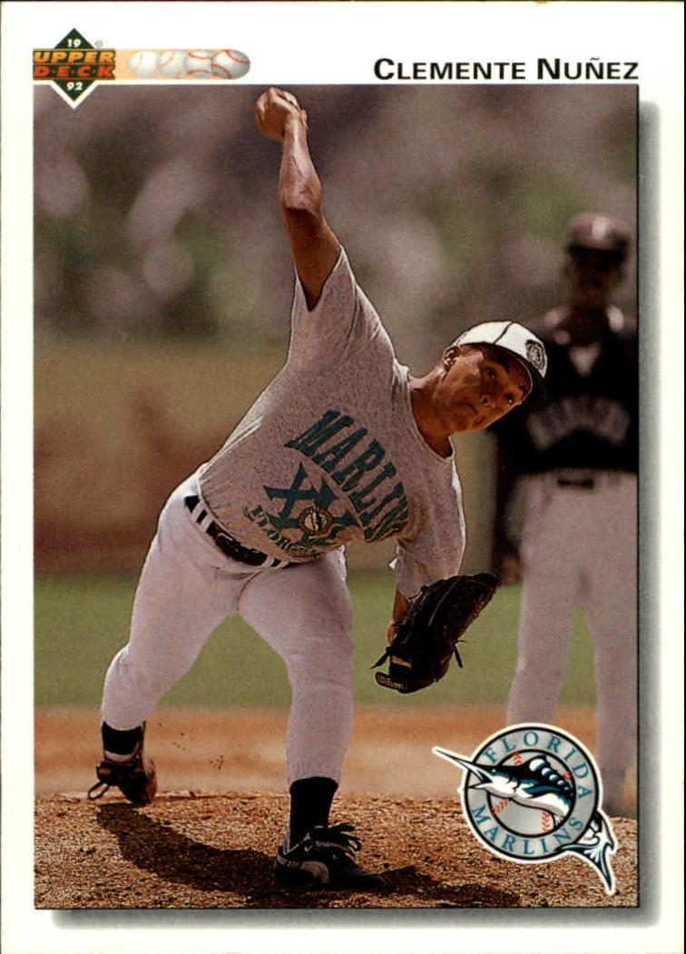 1992 Upper Deck #701 Clemente Nunez RC