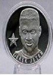 1992-98 Highland Mint Mint-Coins #51 Derek Jeter S/5000