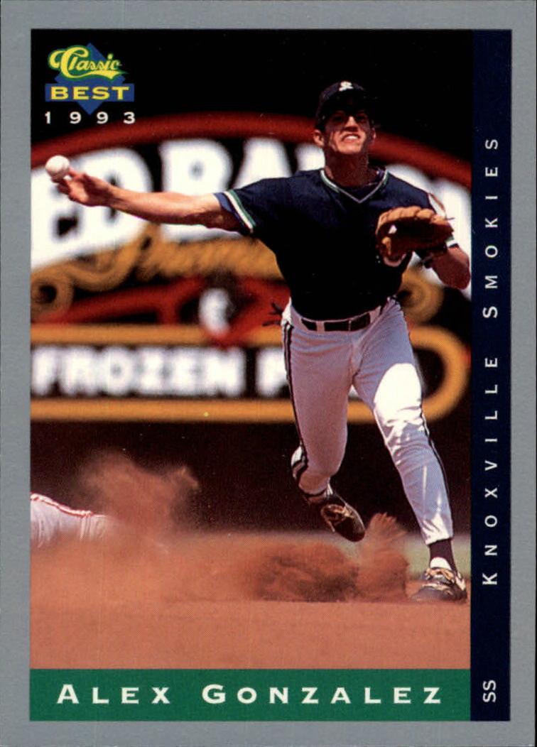 1993 Classic/Best #51 Alex Gonzalez