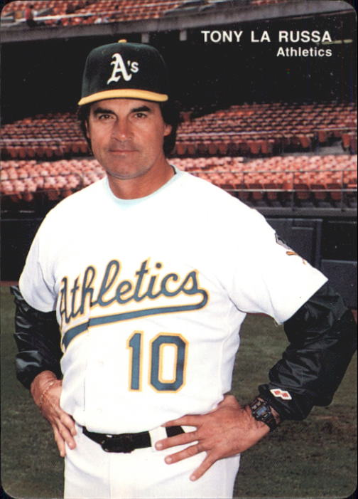 1993 A's Mother's #1 Tony LaRussa MG