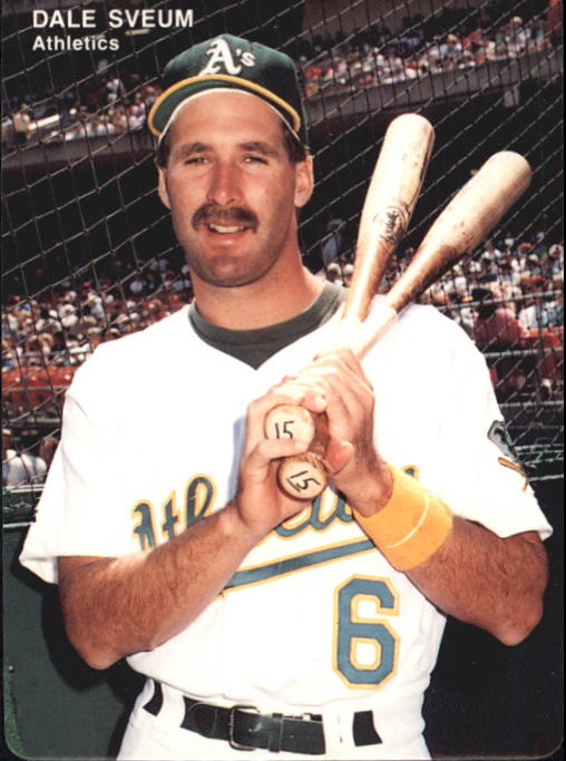 1993 A's Mother's #11 Dale Sveum