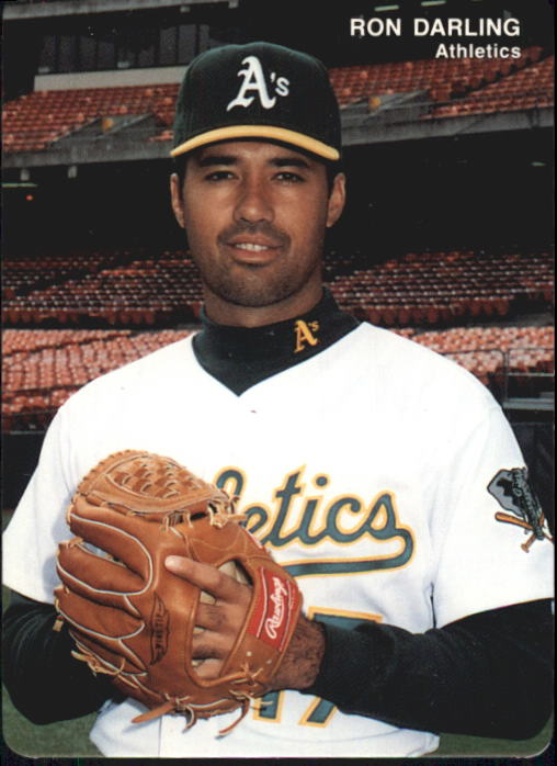 1993 A's Mother's #12 Ron Darling
