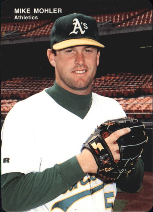 1993 A's Mother's #23 Mike Mohler