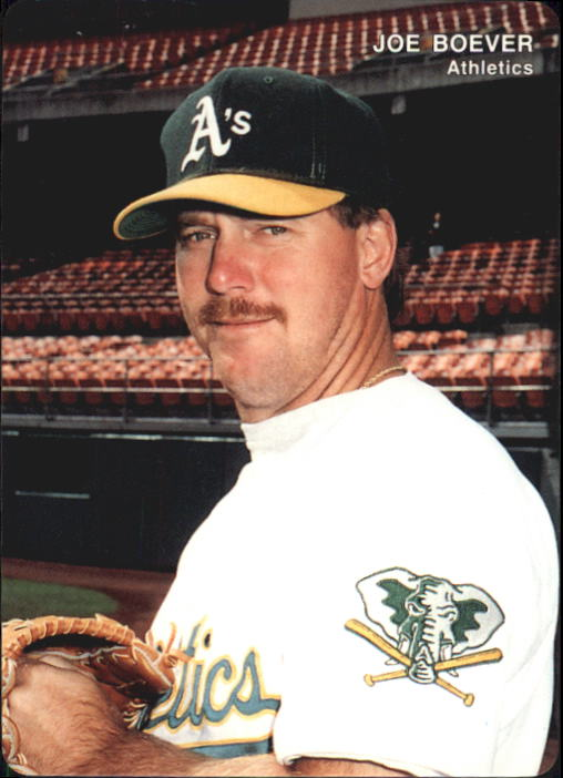 1993 A's Mother's #25 Joe Boever