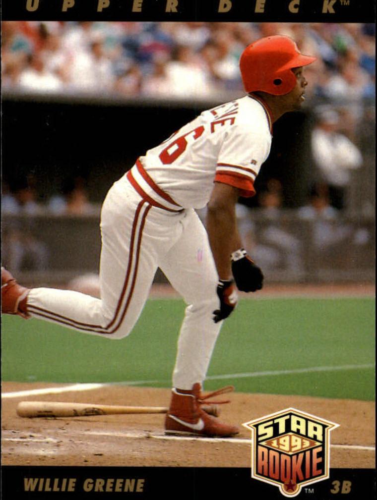 1993 Upper Deck #4 Willie Greene