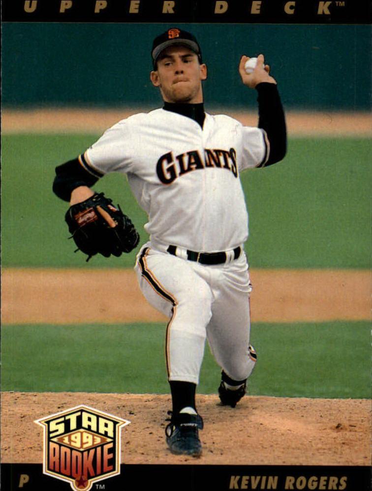 1993 Upper Deck #8 Kevin Rogers