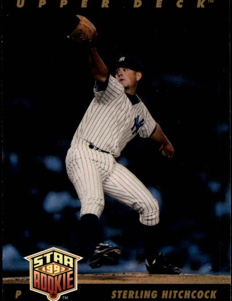 1993 Upper Deck #16 Sterling Hitchcock RC