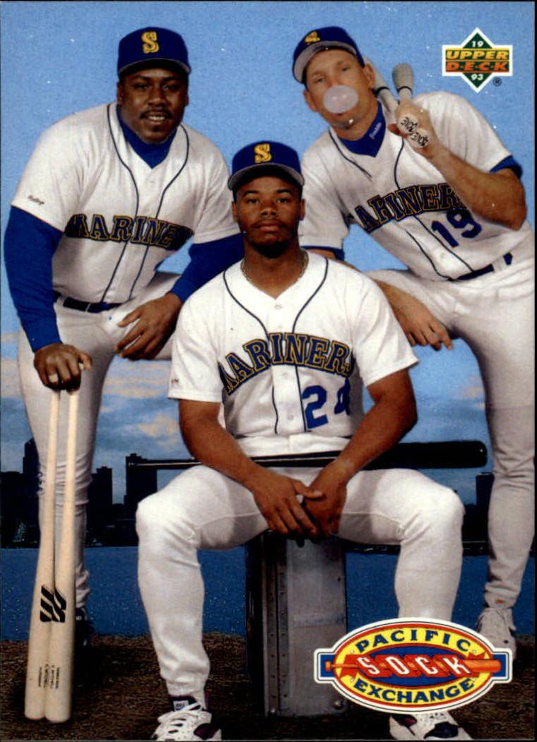 1993 Upper Deck #55 K.Griffey/Buhner/Mitchell