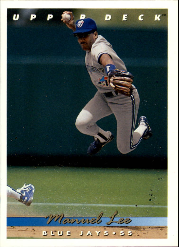 1993 Upper Deck #205 Manuel Lee