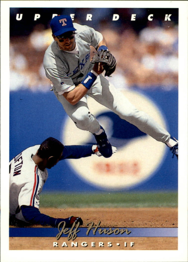 1993 Upper Deck #289 Jeff Huson
