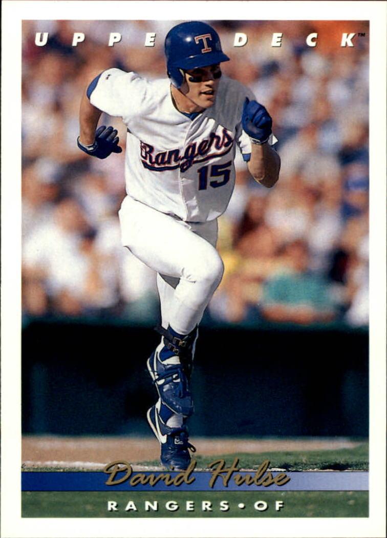 1993 Upper Deck #374 David Hulse RC