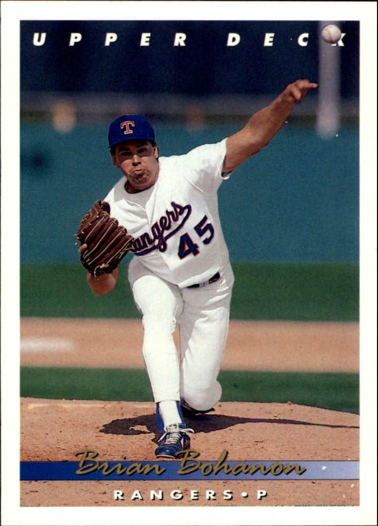 1993 Upper Deck #380 Brian Bohanon